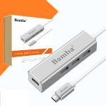 CÁP CHUYỂN ĐỔI USB TYPE C TO 4 PORT USB 3.0 BAMBA